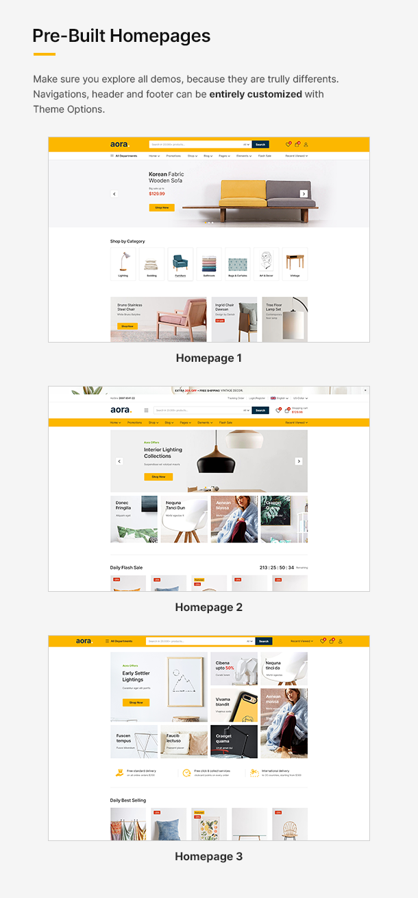 Aora - Home & Lifestyle Elementor WooCommerce Theme - 10