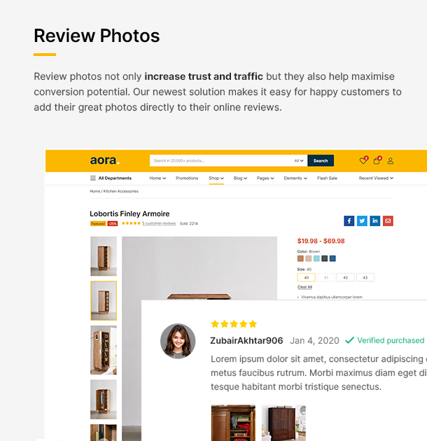 Aora - Home & Lifestyle Elementor WooCommerce Theme - 16