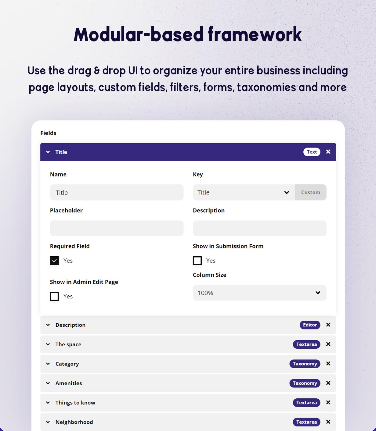 BRIKK- listing and directory WordPress theme - modular based framework
