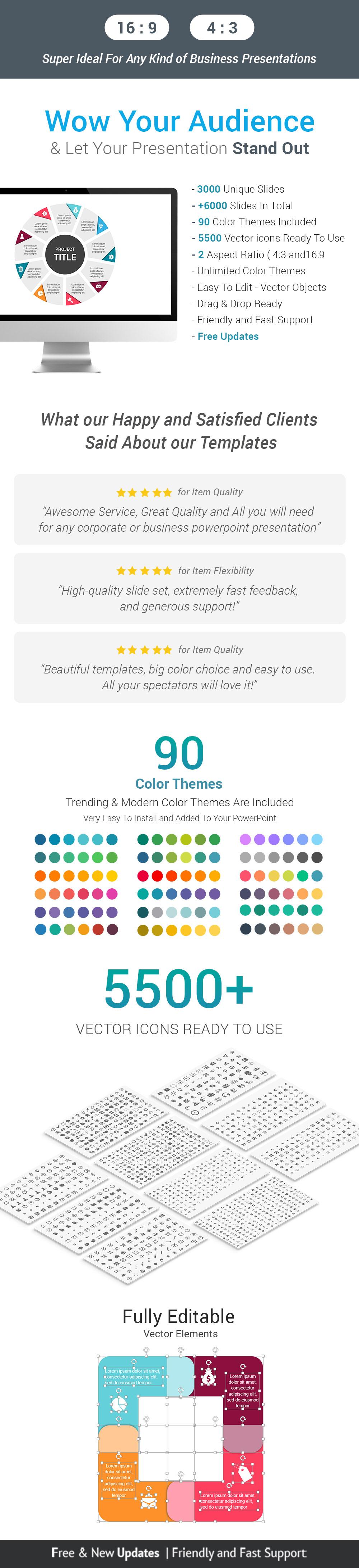 Infographics Complete Bundle PowerPoint Templates - 2