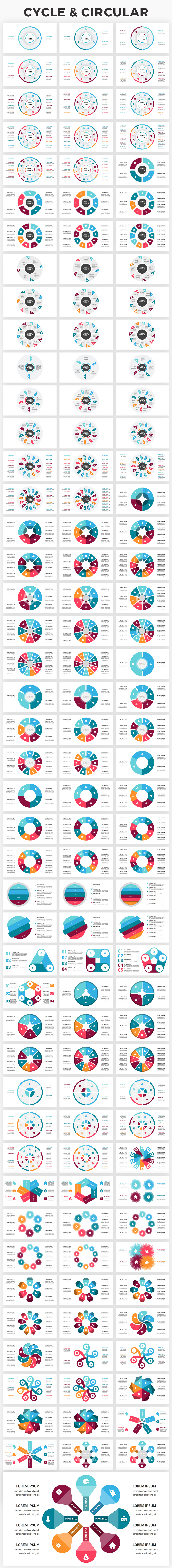Infographics Complete Bundle PowerPoint Templates - 3