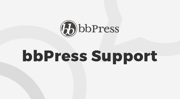bbPress Support