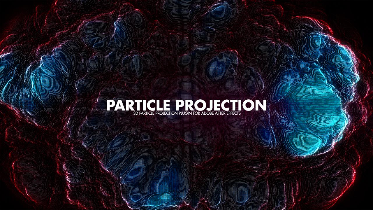 دانلود پلاگین حرفه ای و کاربردی Particle Projection برای افتر افکت