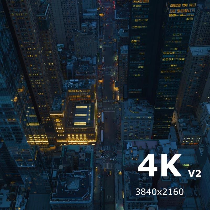 دانلود والپیپر زنده Above New York City