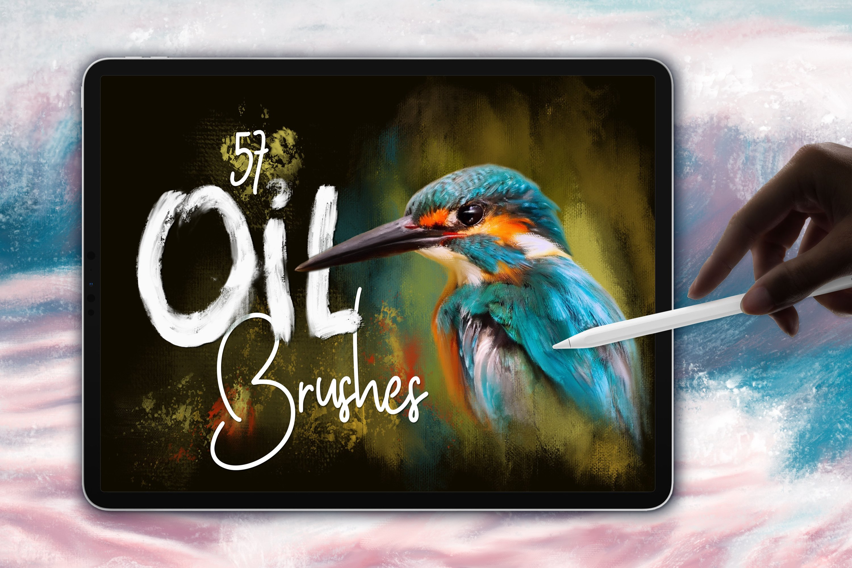 Oil Brushes for Procreate