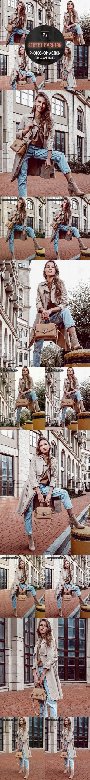 Street Fashion Photoshop Action scaled - دانلود اکشن فتوشاپ Street Fashion
