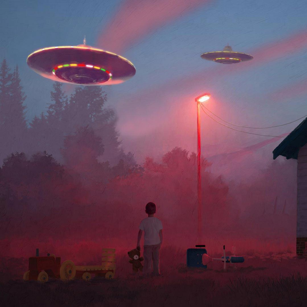 دانلود والپیپر زنده UFO - مخصوص والپیپر انجین