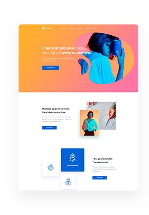 Octavian - Multipurpose Creative HTML5 Template - 3
