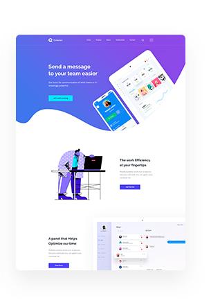 Octavian - Multipurpose Creative HTML5 Template - 4