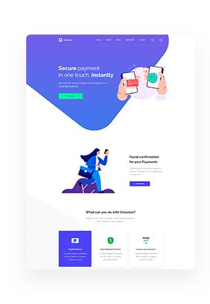 Octavian - Multipurpose Creative HTML5 Template - 5