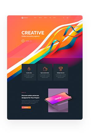 Octavian - Multipurpose Creative HTML5 Template - 8