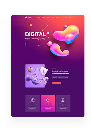 Octavian - Multipurpose Creative HTML5 Template - 9