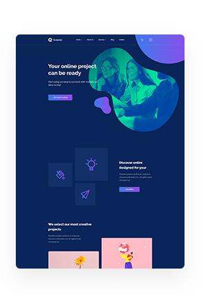 Octavian - Multipurpose Creative HTML5 Template - 10