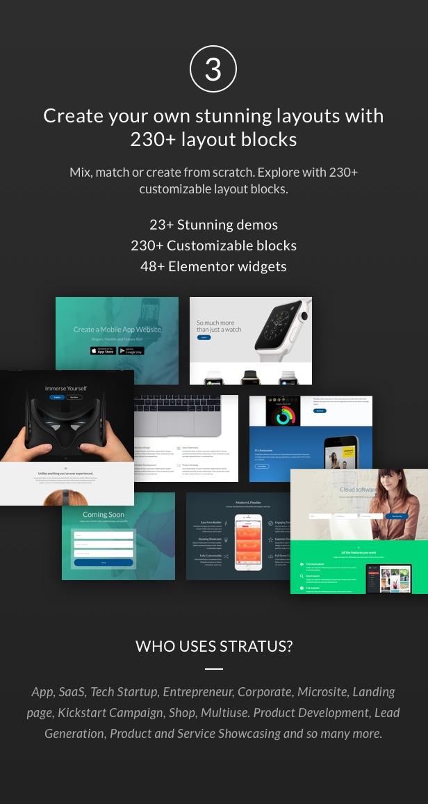 App, SaaS & Software Startup Tech Theme - Stratus - 5