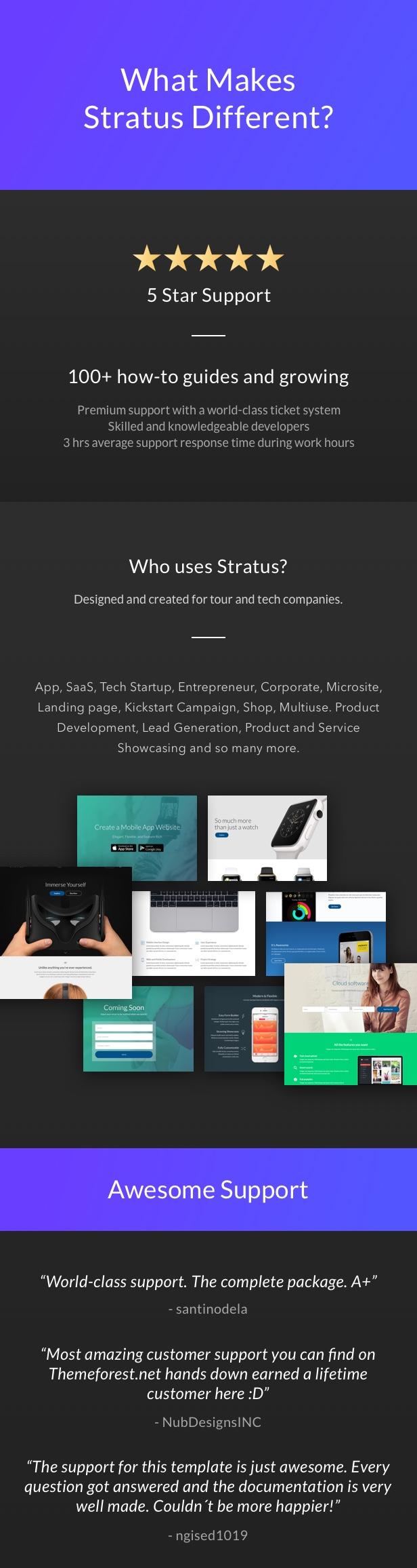 App, SaaS & Software Startup Tech Theme - Stratus - 8