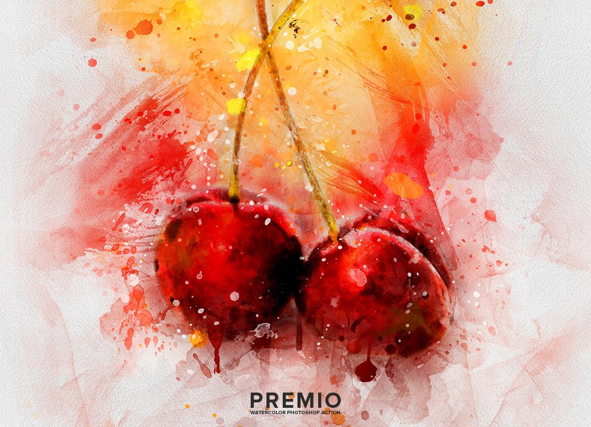 01 preview201 - دانلود اکشن فتوشاپ Premio Watercolor