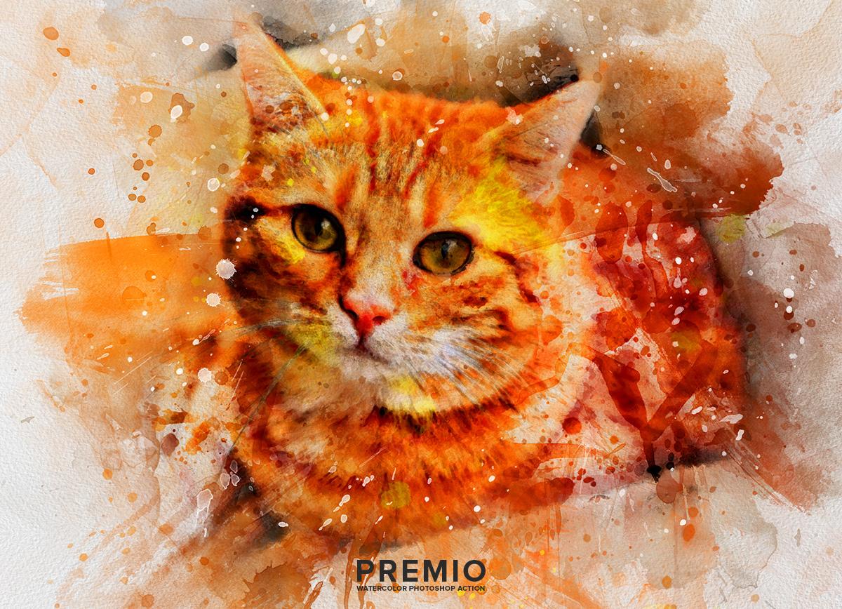 04 preview204 - دانلود اکشن فتوشاپ Premio Watercolor