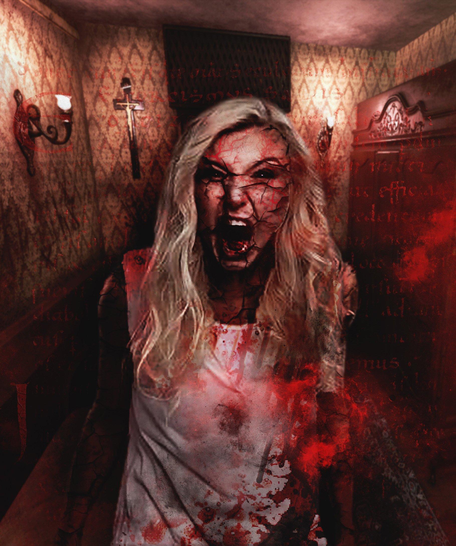 Exorcism Photoshop Action 3 - دانلود اکشن فتوشاپ جنگیری Exorcism