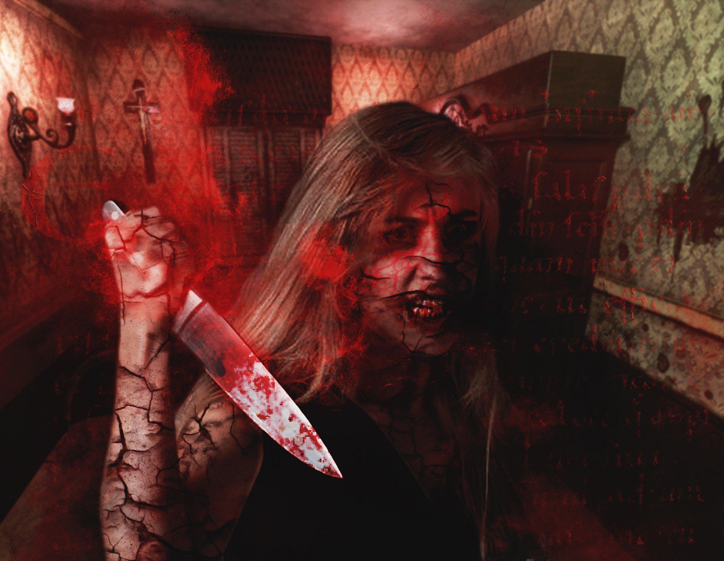 Exorcism Photoshop Action 4 - دانلود اکشن فتوشاپ جنگیری Exorcism