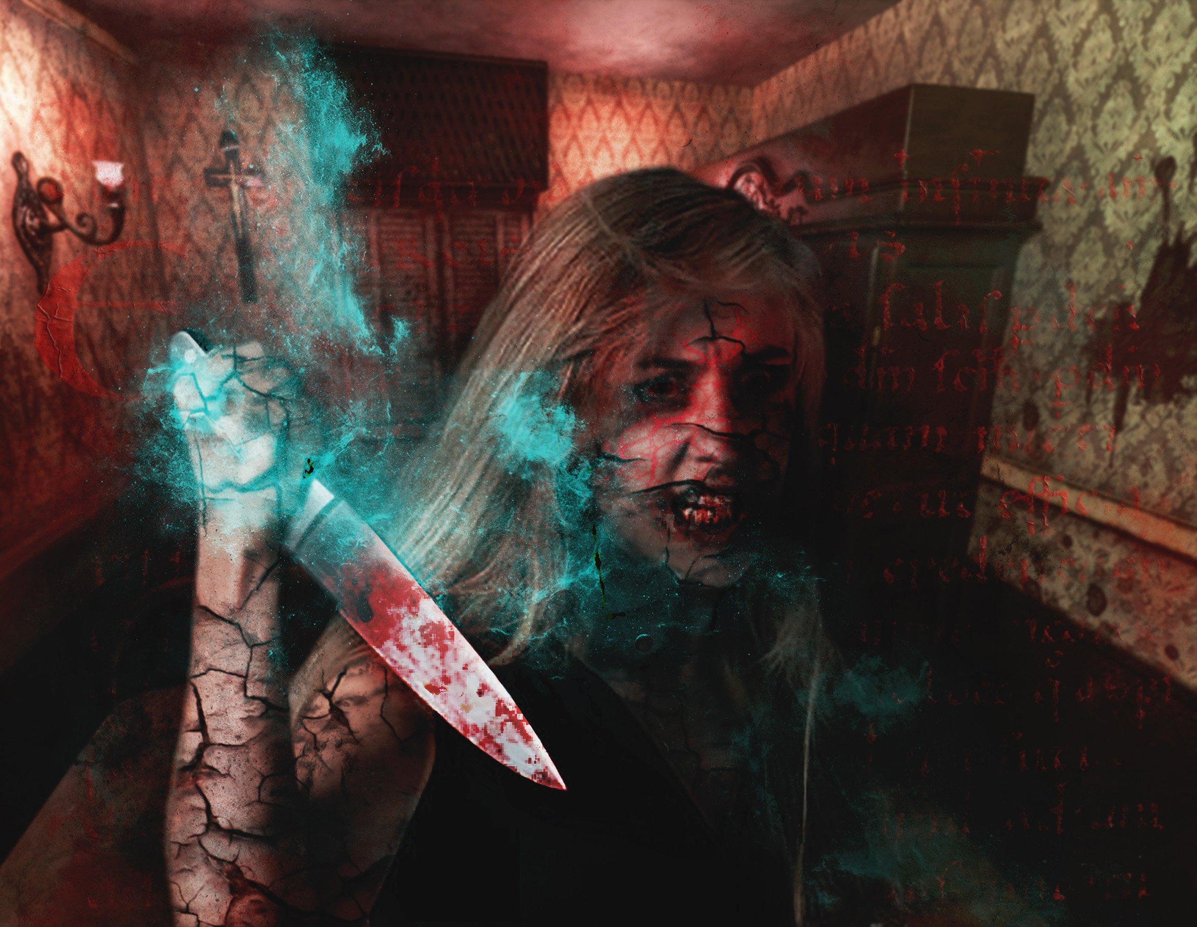 Exorcism Photoshop Action 5 - دانلود اکشن فتوشاپ جنگیری Exorcism