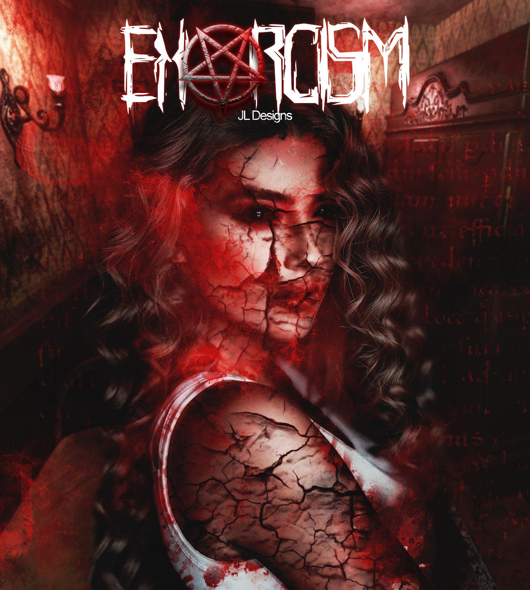 Exorcism Photoshop Action - دانلود اکشن فتوشاپ جنگیری Exorcism