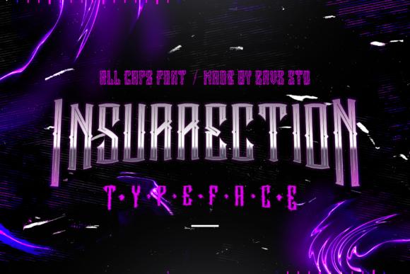 Insurrection - دانلود فونت انگلیسی Insurrection
