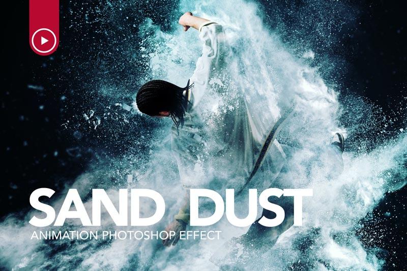 دانلود اکشن فتوشاپ Sand Dust