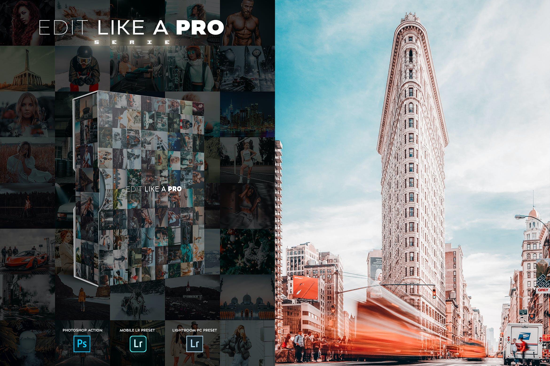 Edit Like A PRO 7th Photoshop Lightroom - دانلود اکشن فتوشاپ و پریست لایت روم Edit Like A PRO - سری هفتم