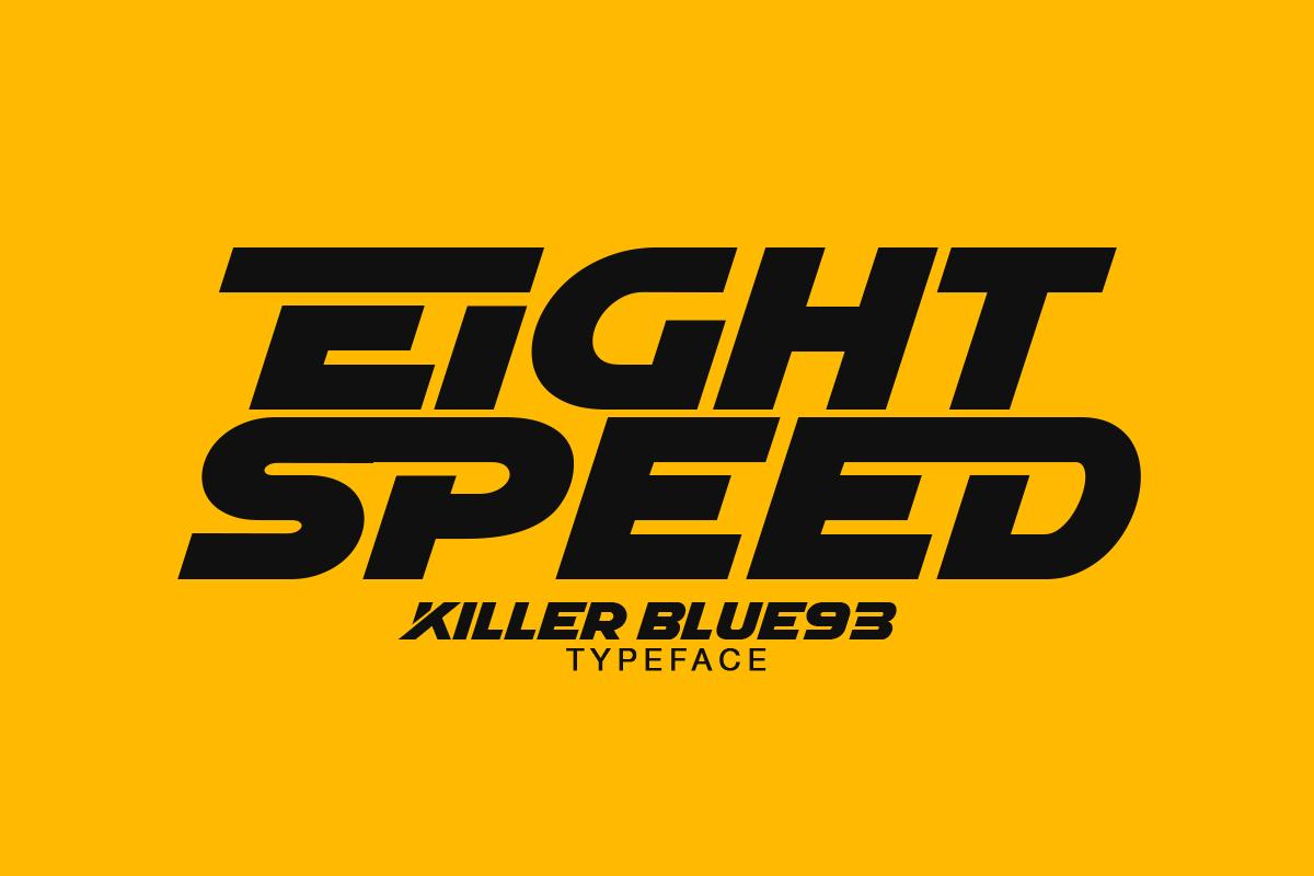 KILLER BLUE93 4 - دانلود فونت انگلیسی KILLER BLUE93 + نسخه وب (فونت وب)