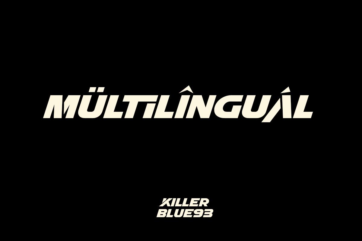 KILLER BLUE93 7 - دانلود فونت انگلیسی KILLER BLUE93 + نسخه وب (فونت وب)